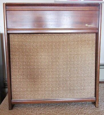 Vintage Hi Fi Record Player Console Mid Century Style Hybrid Components
