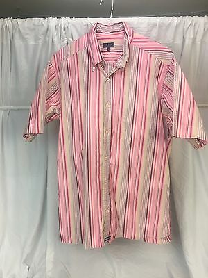 9a3f684df4813a Ted Baker London   Men s Short Sleeve Button-Up Camp Shirt Size Ted Size