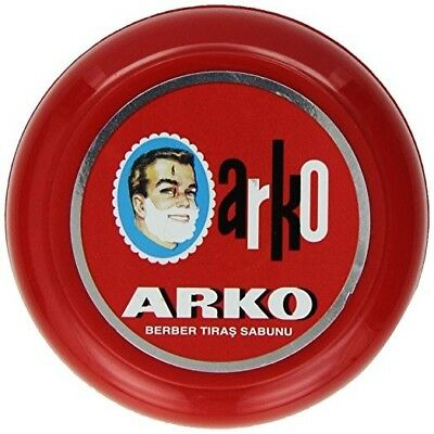 Arko Shaving Soap 90g In Case Bowl | Classic Wet Shaving | Luxurious Lather