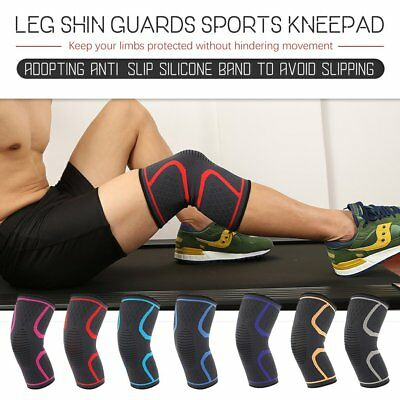 Knee Sleeve Compression Brace Support For Sport Joint Pain Arthritis Relief T2