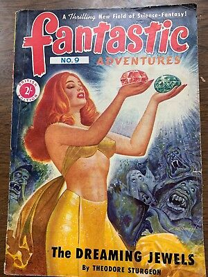 Fantastic Adventures -1950's Science Fiction Comic