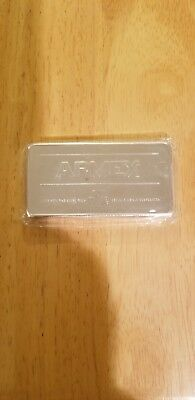10 oz (ounces) .999 fine silver APMEX Silver Bar Sealed
