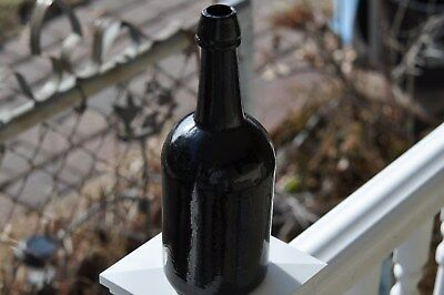 American Squat Black Glass Ale (no embossing)
