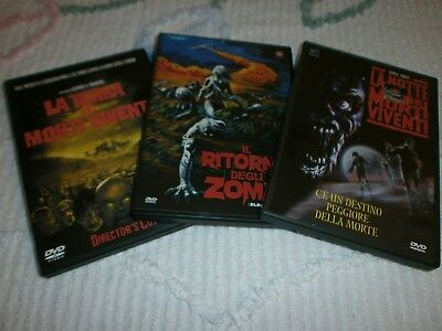 Lotto 3 Film Horror Dvd...in Italiano!!!!!