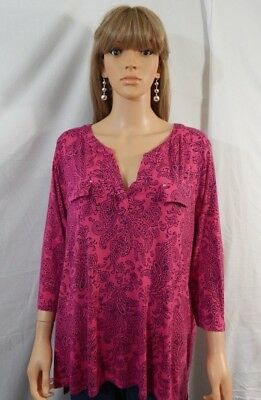 Women S Jcpenney Liz Claiborne Plus Size 2x 22 24 Top Shirt Blouse