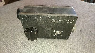 Holophane Lumeter Type 48A - Vintage Electric Light / Lux Meter - Wray of London