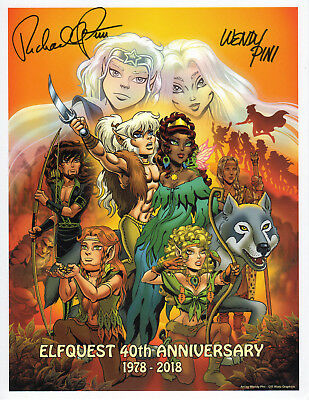 ELFQUEST 40th Anniversary exclusive signature/memory card - retired SIGNED