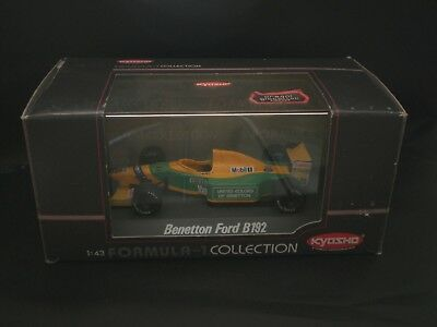 Kyosho 1/43 Benetton Ford B192 #20 Martin Brundle 1992 - New With Box