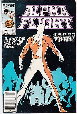 Alpha Flight  #11 1984 Marvel -Origin Of Sasquatch  X-Men/ Mutants...fn