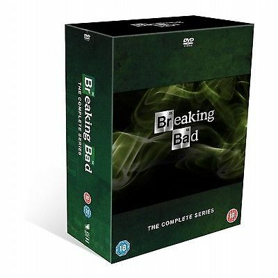 Breaking Bad: The Complete Series (with UltraViolet Copy) DVD Boxset. Brand New
