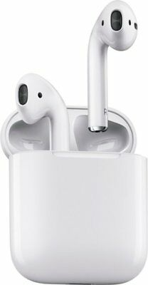 Apple AirPods Air Pods Wireless Bluetooth Earbuds | White | SHIPS SAME DAY!