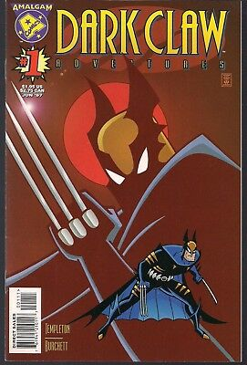 Dark Claw Adventures #1 Dc/Marvel 06/97 Amalgam Batman Animated & Wolverine  Nm-