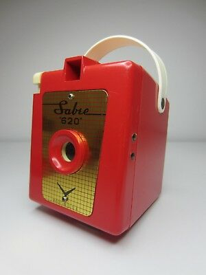 Vintage Red Sabre 620 Camera - Sold for Display - Beautiful Red Camera!