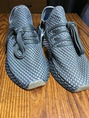 6ea862acd ADIDAS DEERUPT RUNNER Grey Size 8 Mens Shoes New Without Box ...