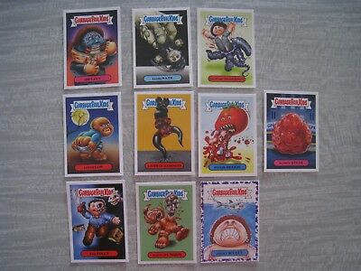 Garbage Pail Kids, Oh the Horrible Stickers x 10 2018