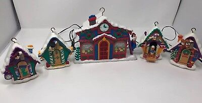 Mr. Christmas 1993 Mickey's Clock Shop Disney's Mickey Mouse Vintage Songs Moves