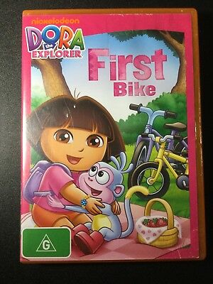 DORA THE EXPLORER FIRST BIKE DVD-Get it Fast!