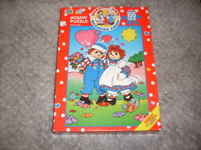 Raggedy Ann & Andy Vintage Unopened 1993 Puzzle By Roseart True Friends