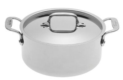 New All-Clad 5303 Stainless Steel 3-qt Casserole.. NO LID