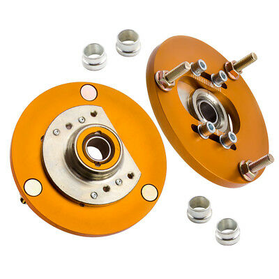 Adjustable Camber Caster Plates for BMW E46 3 Series Front Coilover Suspension