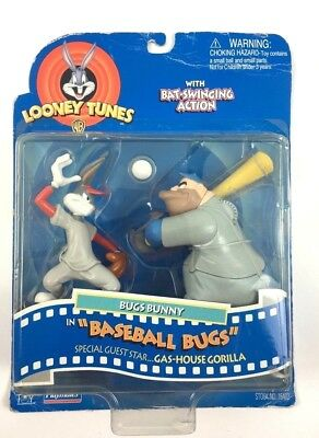 Bugs Bunny in Baseball Bugs LOONEY TUNES Gas-House Gorilla with Bat Swinging NEW