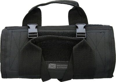 Maratac  Tactical Tool Roll Travel Black Case Storage Made in USA MAR008