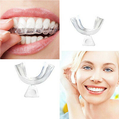 3pcs Thermoform Mouth Teeth Dental Trays WhitenerTooth Whitening Moldable Guard