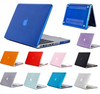 "Slim Crystal Clear Hardshell Hard Case Cover For Apple Macbook Pro 13.3"" 15.4"""