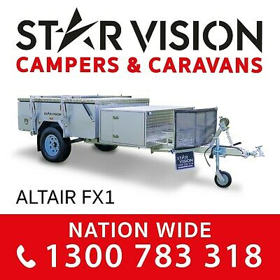STAR VISION ALPHA B - Hard Floor Camper Trailer Off Road Caravan Forward Fold