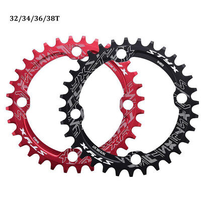 104BCD Moutian Bike Narrow Wide Round Speed Chain Ring 32T/34T/36T/38T Sweet