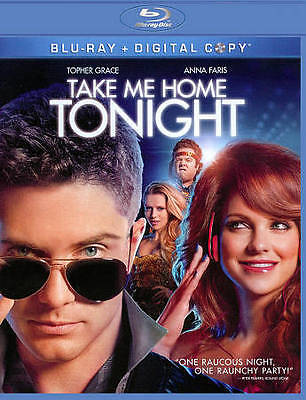 Take Me Home Tonight (Blu-ray) (Topher Grace, Anna Faris) Free Shipping
