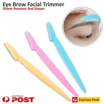Eyebrow Trimmer Tinkle Facial Blade Knife Razor Hair Shaver Remover Shaper