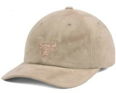 sports shoes 21314 90822 Chicago Bulls Mitchell   Ness NBA Mitchell   Ness Micro Suede Dad Hat  Strapback
