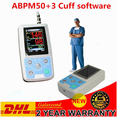 Contec 24H ambulatoriale sanguigna Holter Pressione Monitor ABPM50+Cuff software