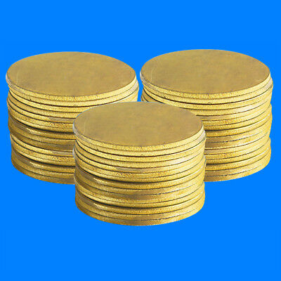Dia 5-10mm H62 Solid Brass Round Discs Blanks Flat Plate For DIY Material