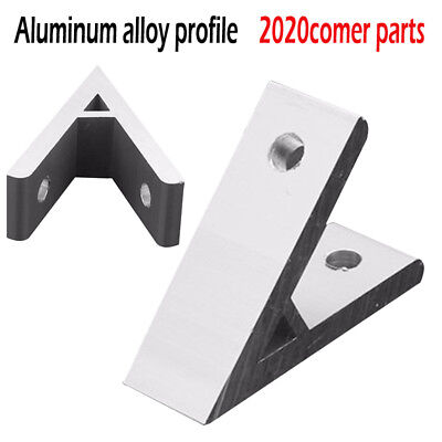45° 45 Degree Silver Aluminium Angle Corner Joint Bracket Connector For 2020 New
