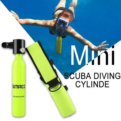 Diving Equipment Mini Scuba Diving Cylinder Scuba Oxygen Spare Air Tank 0.5L