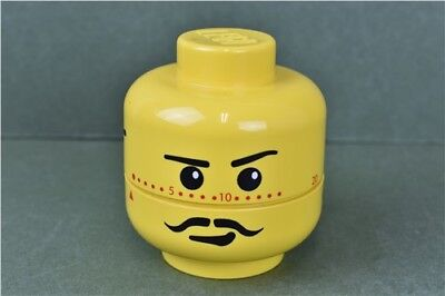 Lego Head Egg Timer Wind-Up Timer 2005 Rare Collectable Kitchen