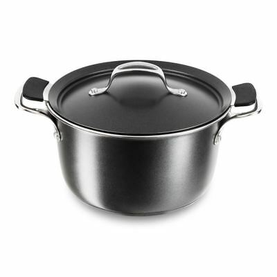 Tefal - Experience Stainless Steel Interior Stockpot 24cm with Steamer Basket an