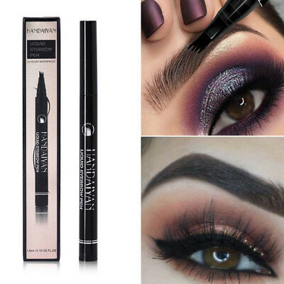 Tattoo Pen Smudge-proof Eyebrow Pen Waterproof Eye Brow Pencil Long Lasting