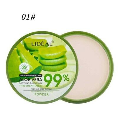 15g Aloe Whitening Concealer Mineral Foundation Make-up Face Powder