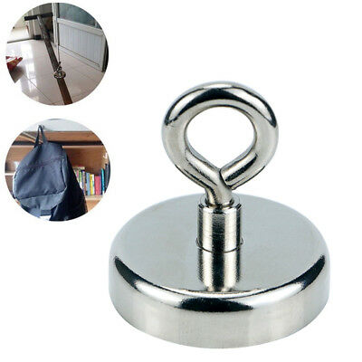 Round Eyebolt Magnet River Fishing Durable Powerful Force Super Strong Neodymium