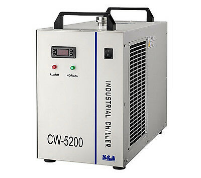 220V Industrial Water Chiller CW-5200 for Cooling 150W CO2 Laser Tube