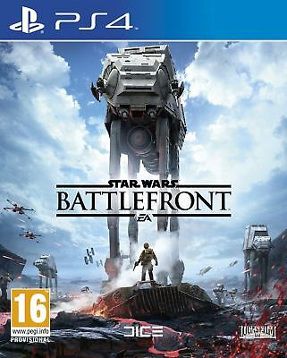 Star Wars Battlefront PS4 Brand New Sealed Official Sony PlayStation 4 UK PAL