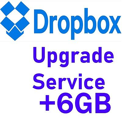 dropbox upgrade space lifetime service 6GB