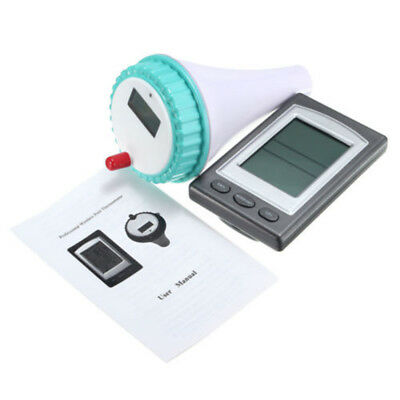 ^Wireless Remote Floating Thermometer Swimming Pool Waterproof Hot Tub Pond Spa^