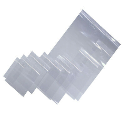 GRIP SEAL BAGS Self Resealable Clear Polythene Poly Plastic quality -All Sizes