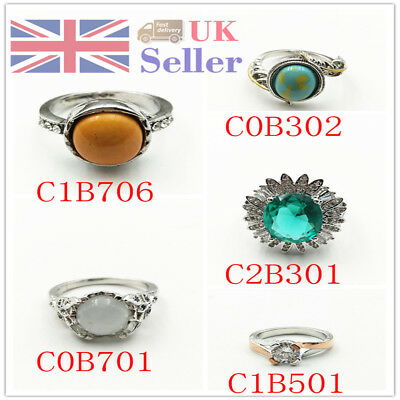 Women Zircon Finger Rings Birthday Party Charming Gifts For Ladies Creative Thum