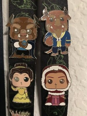 Beauty and the Beast Funko Fantasy Pin (Set of 4)