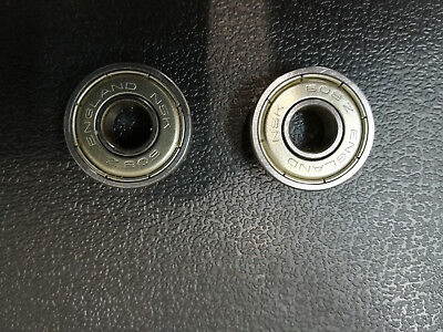 Nsk 608Z Bearing  New Qty: 2  Ideal Top Quality Roller Skate Replacements